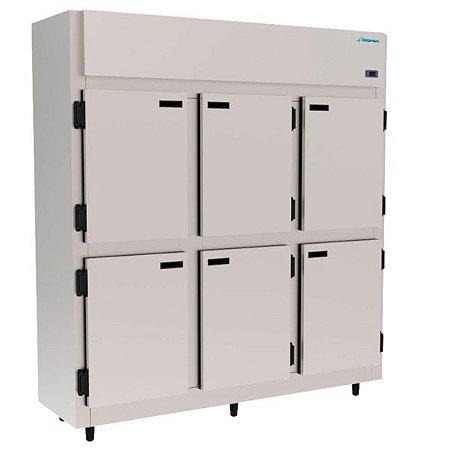 Refrigerador / Geladeira Comercial 6 Portas KOFISA KMCP129-6P