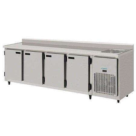 Balcão de Serviço Refrigerado 2,50m KOFISA KBSC-250D
