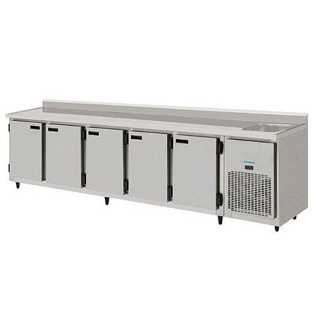 Balcão de Serviço Refrigerado 3,00m KOFISA KBSC-300D