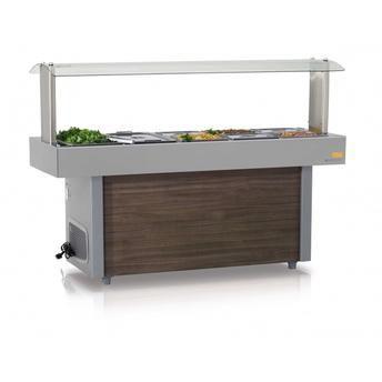Mesa Refrigerada Linha Buffet Self-Service 8 Cubas GELOPAR GMRA-150