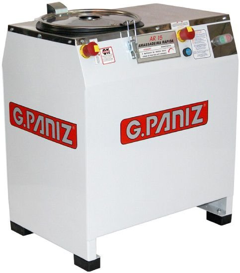 Amassadeira Rápida 15kg de Massa Monofásica GPANIZ AR-15 M