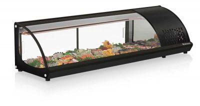 Vitrine Refrigerada de Bancada para Sushi 1,60m GELOPAR GVRB-160