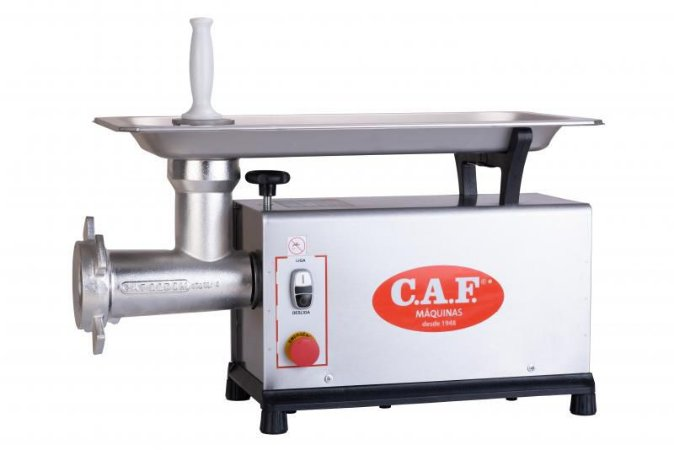 Moedor de Carne nº22 Monofásico CAF 22 SM Inox