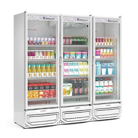 Refrigerador Vertical Conveniência 1468L GELOPAR GCVR-1450