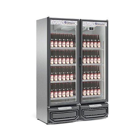 Refrigerador Vertical Conveniência Cervejas ou Carnes 957L GELOPAR GCBC-950