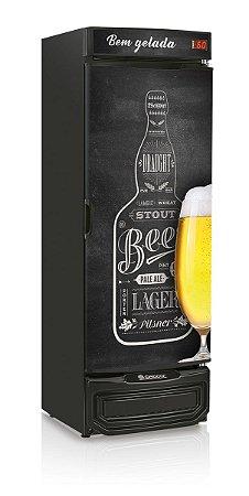 Refrigerador de Bebidas Cervejeira 441L GELOPAR GRBA-450 QC