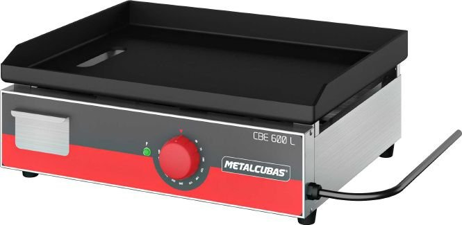 Chapa Bifeteira Light Elétrica 60cm METALCUBAS CBE-600 L