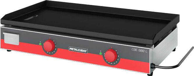Chapa Bifeteira Light Elétrica 80cm METALCUBAS CBE-800 L