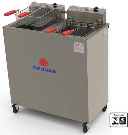 Fritadeira elétrica água e óleo  PROGÁS PR-200 E