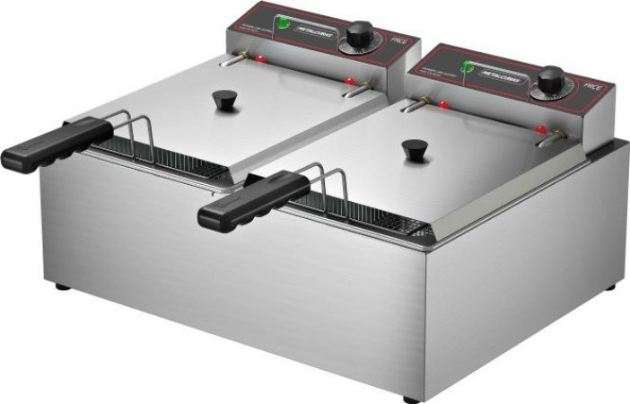 Fritadeira Elétrica  10 Litros  Metalcubas FRCE10