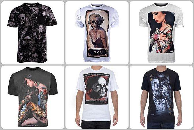 356c7d7ddd235 Camisetas MCD no Atacado - Kits de 03 a 50 peças - Roupas de Marca ...