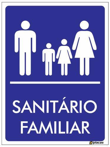 Placa Sanitário Familiar