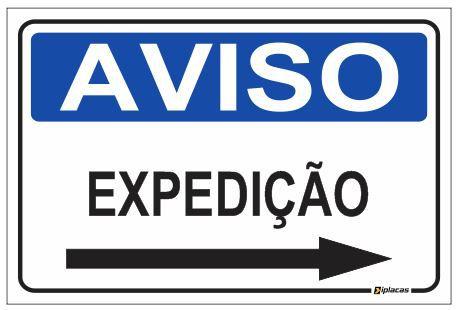 Aviso - Expedição