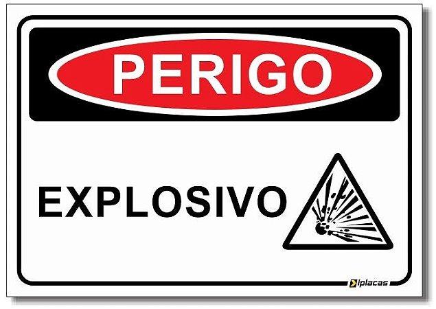 Perigo - Explosivo