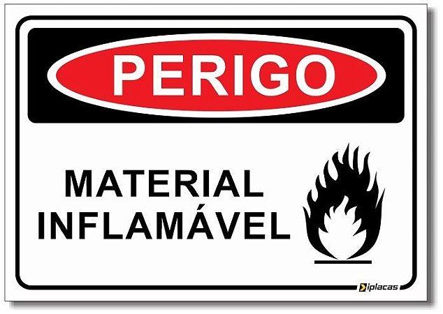 Perigo - Material Inflamável