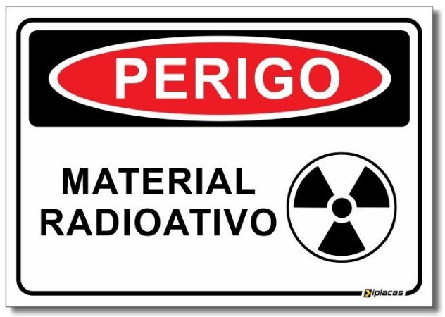 Perigo - Material Radioativo