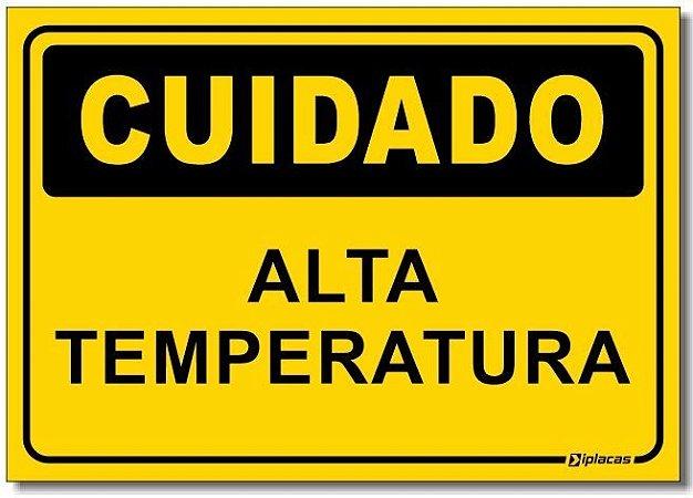 Cuidado - Alta Temperatura