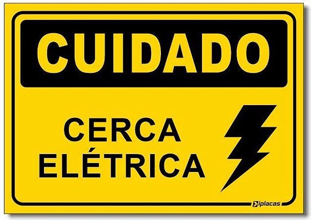 Cuidado - Cerca Elétrica