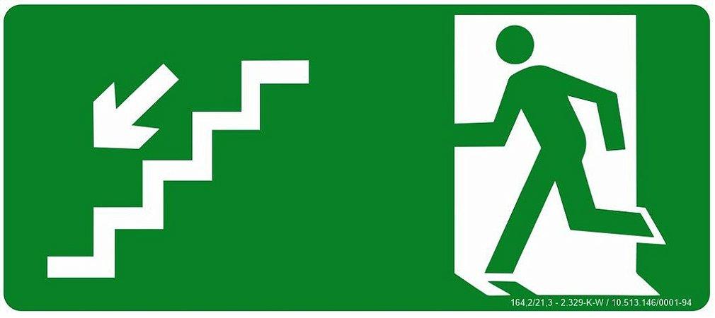Rota de Fuga - Desce Escada a Esquerda