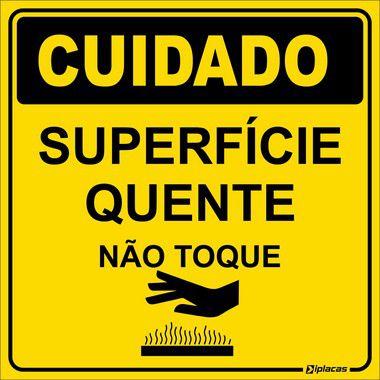 Etiqueta - Cuidado - Superfície Quente
