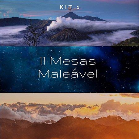 Kit 1 -  11 Mesas * Maleável * ( Grf )