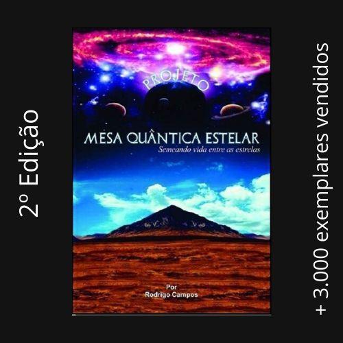 Livro Mesa Quântica Estelar - ( Grf )