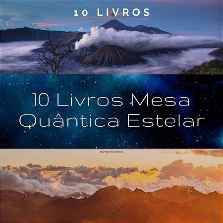 10 Livros Mesa Quântica Estelar - ( Grf )