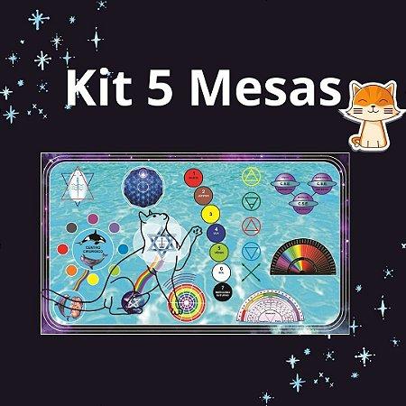 Kit 1 - 5 Mesas Pets