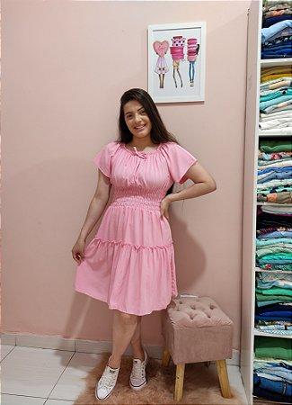 Vestido Princess Rosa