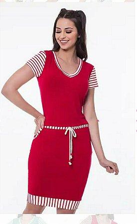 Vestido Hapuk Vermelho