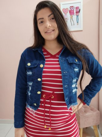 Jaqueta Jeans Detroid