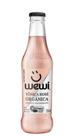 AGUA TONICA ROSE ORGANICA WEWI 255ML