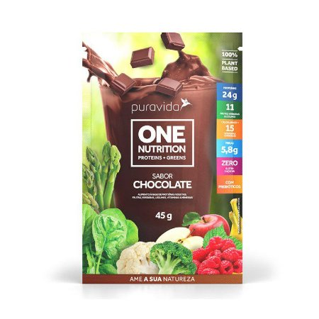 ONE NUTRITION CHOCOLATE PURA VIDA 45G