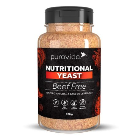 NUTRITIONAL YEAST BEEF FREE (120G) - PURA VIDA