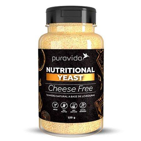 NUTRIONAL YEAST CHEESE FREE PURA VIDA 120G