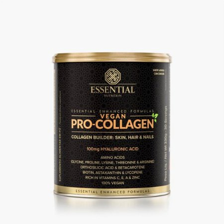 VEGAN ESSENTIAL NUTRITION PRO COLLAGEN LATA 330G