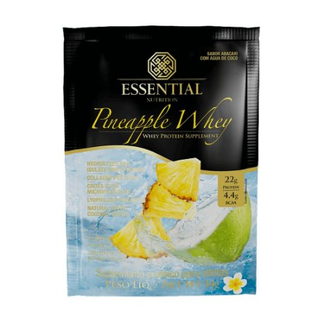 PINEAPPLE WHEY ESSENTIAL NUTRIT ABACAXI E COCO 34G