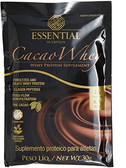 CACAU ESSENTIAL NUTRITION WHEY SABOR CHOCOLATE 30G