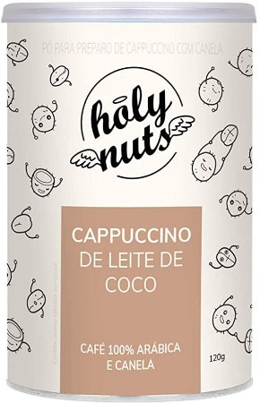CAPPUCCINO LEITE DE COCO HOLYNUTS 120G