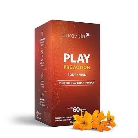 PLAY PRE ACTION  PURA VIDA 60 CAPS
