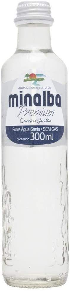 AGUA MINERAL SEM GAS GARRAFA DE VIDRO 300ML
