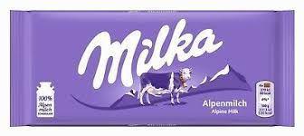 CHOCOLATE ALPINE MILK MILKA 100G