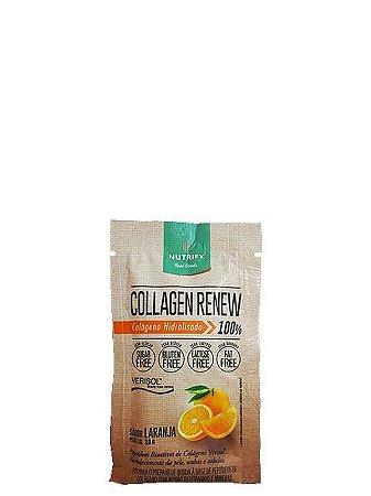 COLLAGEN RENEW NUTRIFY FOODS LARANJA 10G