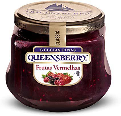 GELEIA QUEENSBERRY FRUTAS VERMELHAS 250G