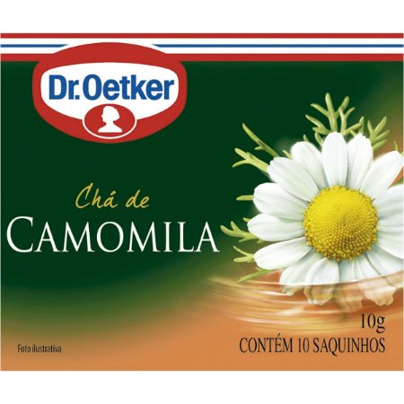 CHA CAMOMILA DR OETKER 10G