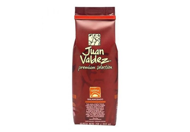 CAFE COLINA BALANCEADO JUAN VALDEZ 250G