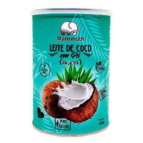 LEITE DE COCO PO MAMMOTH 150G