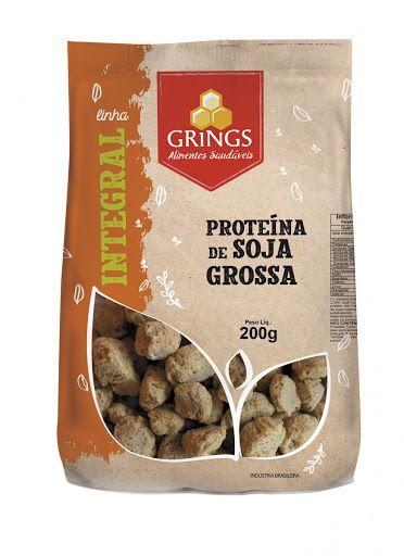 PROTEINA DE SOJA GROSSA GRINGS 200G