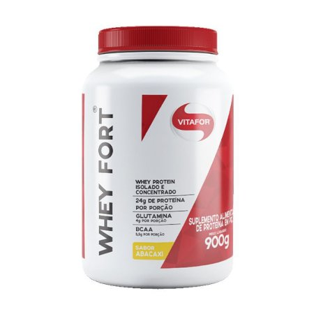 WHEY FORT ABACAXI VITAFOR 900G