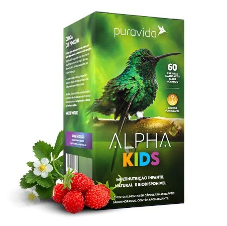 ALPHA KIDS PURA VIDA 60 CAPS